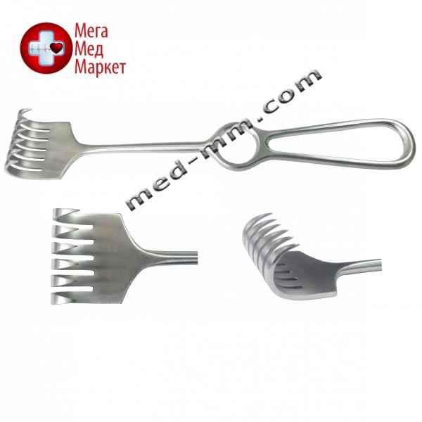 Купить Крючок хирургический 6 зубый острый цена, характеристики, отзывы