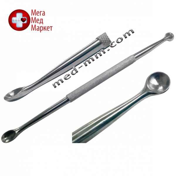 Купить Ложка хирургическая костная двусторонняя острая цена, характеристики, отзывы