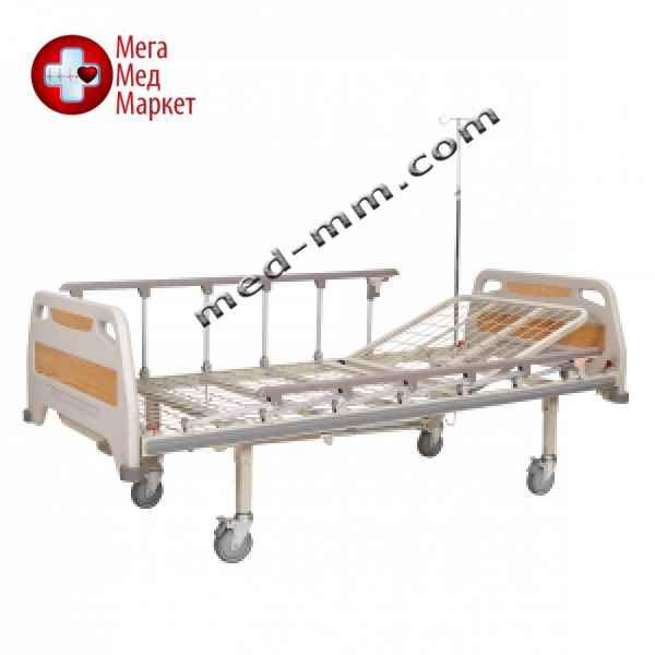 Купить Кровать медицинская механическая, 2 секции OSD-93С цена, характеристики, отзывы