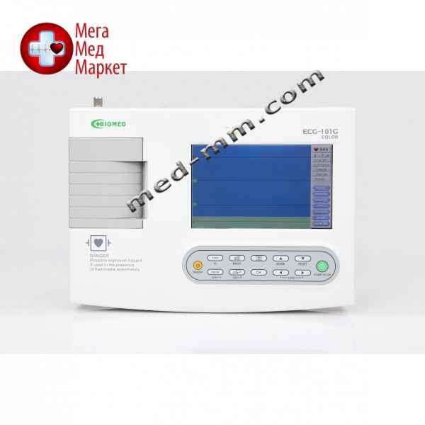 Купить Электрокардиограф цифровой ECG-101G COLOR 1-канальный цена, характеристики, отзывы