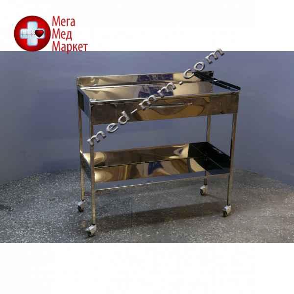 Купить Cтолик с ящиком из нержавеющей стали 1000мм (1метр) цена, характеристики, отзывы