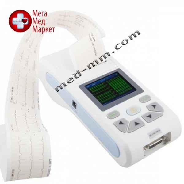 Купить Портативный кардиограф 3/12 канальный 100G цена, характеристики, отзывы