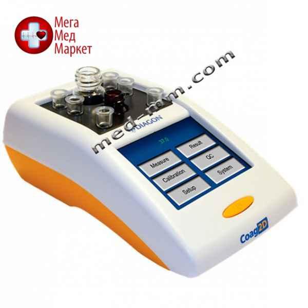 Купить Полуавтоматический 2-канальный коагулометр COAG2D цена, характеристики, отзывы