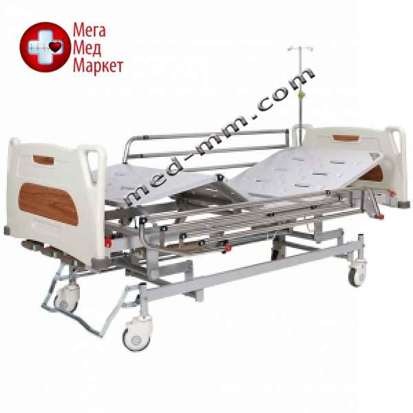 Купить Кровать медицинская механическая с регулировкой высоты, 4 секции OSD-9017 цена, характеристики, отзывы