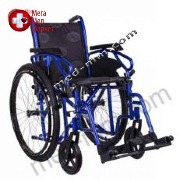 Купить Коляска инвалидная MILLENIUM III синяя цена, характеристики, отзывы