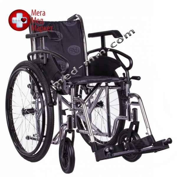 Купить Коляска инвалидная MILLENIUM III хром цена, характеристики, отзывы